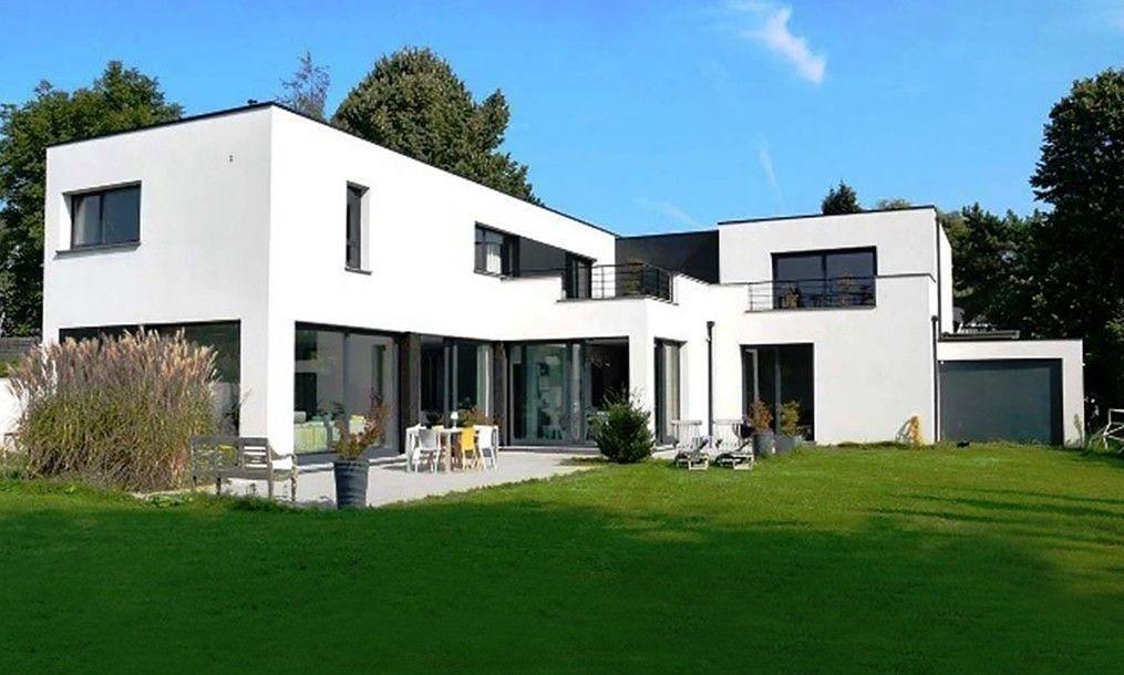 Les villas g om triques for Photos architecture batiment