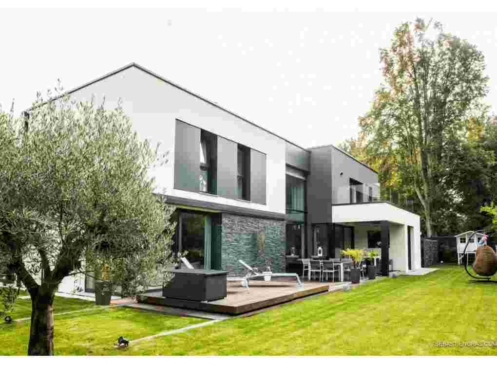 Les villas g om triques for Architecture cubique